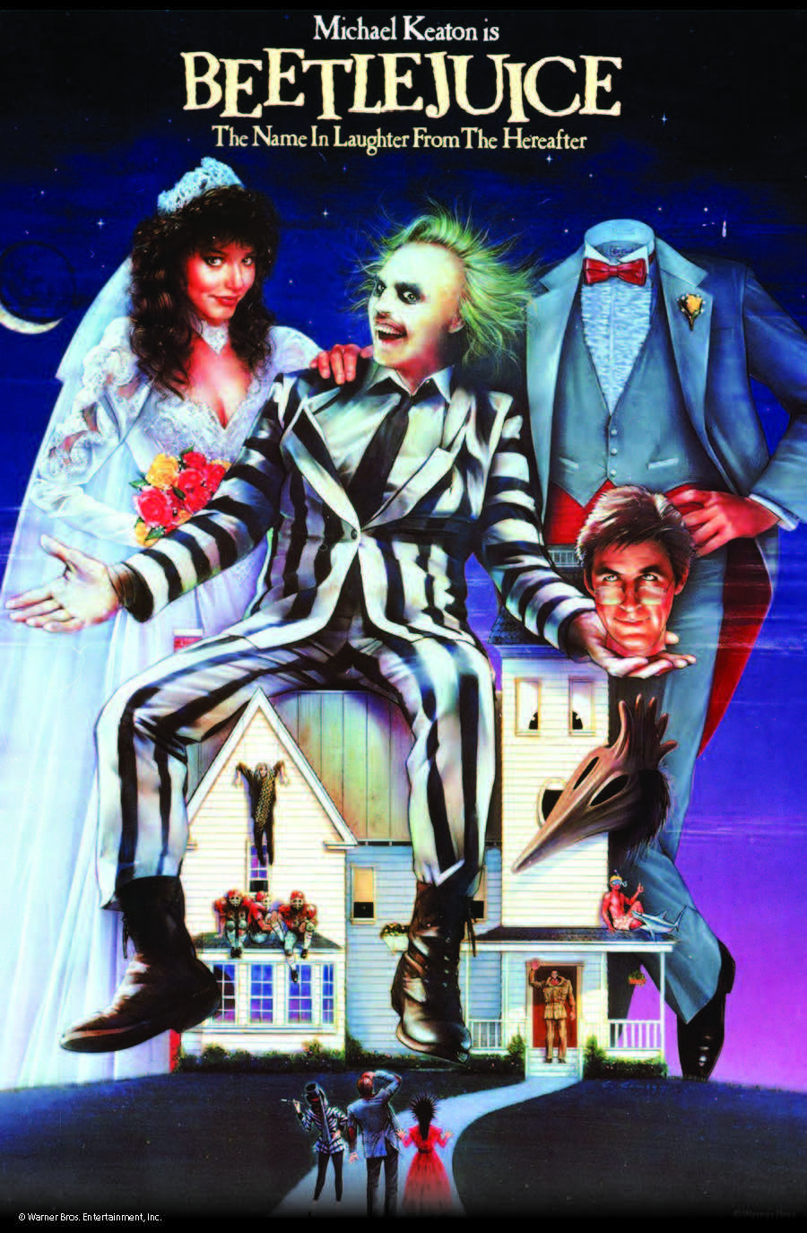 Beetlejuice Theatrical Poster