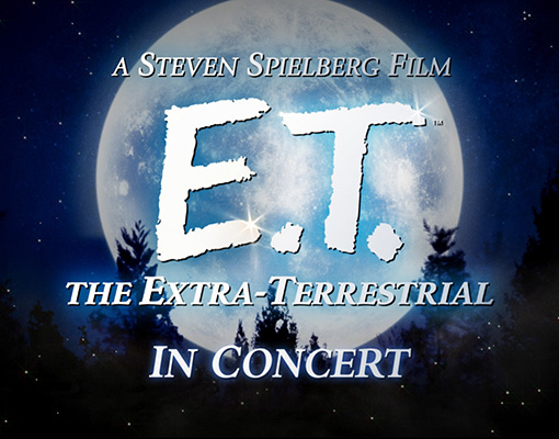 E.T. the Movie LIVE with the WV Symphony